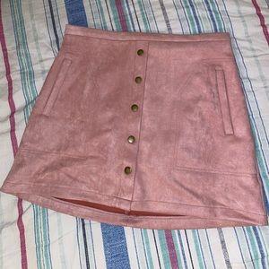 Hyfve Velvet Skirt NWT